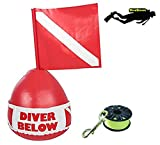 DiveSmart high visibility surface marker buoy