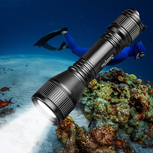 ORCATORCH D550 upgraded underwater light